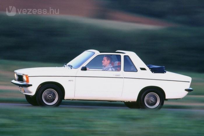 Ritka a Kadett Aero, amelynek oka lehet a magas ár. A VW 1303 Cabroiolet 3000 márkával kevesebbe került