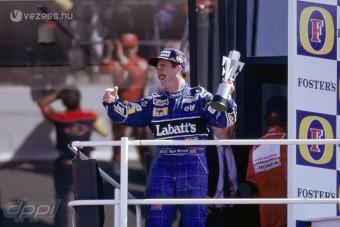 Mansell otthon is nyert