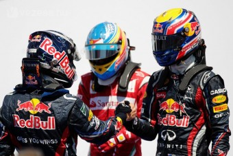 F1: Alonso megfúrta a Red Bull-uralmat