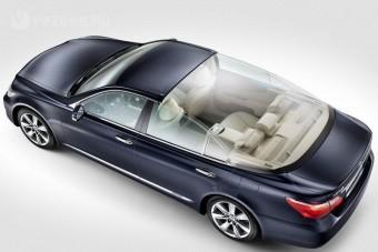 Luxus Lexus a monacói hercegnek