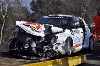 Megismétlődött Kubica balesete