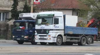 Kamerával figyelik a teherautókat