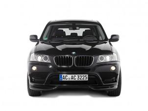 Tetszetős tuningcsomag a BMW X3-hoz
