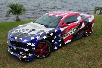 A legamerikaibb autófestések