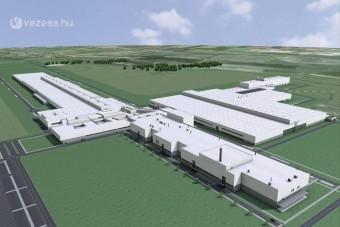 Letették az új Audi-gyár alapkövét Győrben