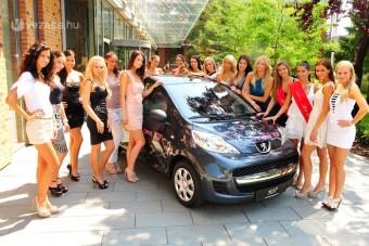 Peugeot-t kap a legszebb magyar lány
