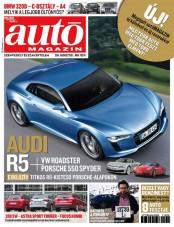 Titkos Audi sportkocsi a megújult autóMAGAZIN címlapján