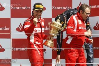 F1: Alonso jót tett a Hungaroringnek