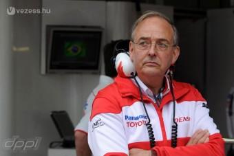 F1: Visszatér a Toyota-főnök?