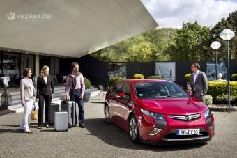 Bérelhető az elektromos Opel