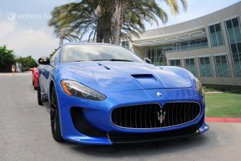 Maserati német erőkúrán