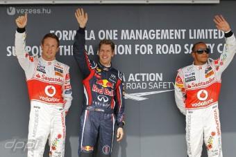 F1: Button nyerni akar a 200. futamán