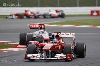 F1: Alonso minden versenyt megnyerne