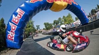 Még a profik is megizzadtak az első Red Bull Kart Fight országos selejtezőn