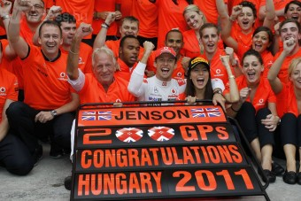 F1: Button új szerelme, a Hungaroring