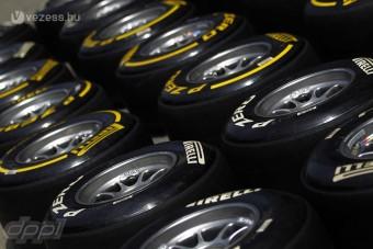 F1: Visszahozná az edzésgumikat a Pirelli