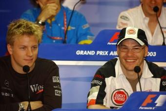 Villeneuve: Räikkönen egy mázlista világbajnok