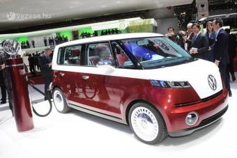Visszatér a VW hippibusz