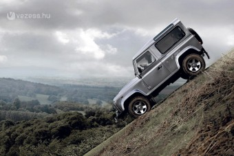 Itt a legtisztább Land Rover Defender