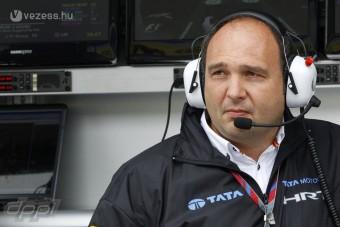 F1: Bolond vagy belemenős a HRT-főnök?
