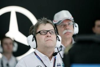 F1: Célt tévesztett a Mercedes