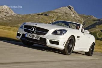 Bitang erő a Mercedes SLK-ban