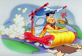 Lábfék Flintstone Frédi módra!