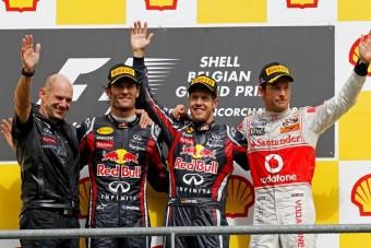 F1: Button többre vágyott Spában