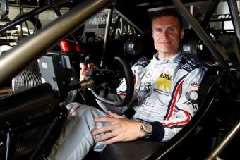 Szimulátorverseny Coulthard ellen