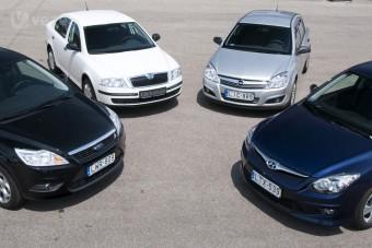 Teszt: a legolcsóbb családi autók