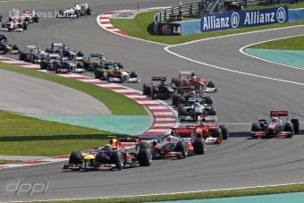 F1: Hivatalos a 2012-es naptár