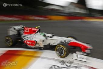 F1: Spéci bukósisakkal versenyez Liuzzi