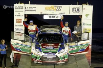 Dupla Ford-győzelem az Ausztrál-ralin