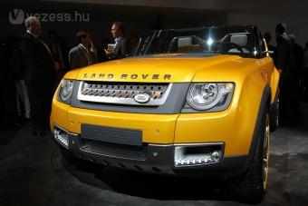 Három koncepció a Jaguar és Land Rover standján