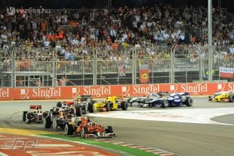 F1: Zuhoghat az éjszakai versenyen