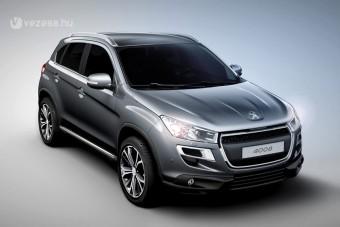 Kompakt szabadidő-autó a Peugeot-tól