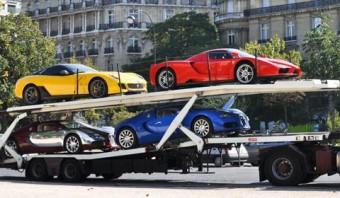 Afrikai zsarnok milliárdos autóit kobozták el a franciák