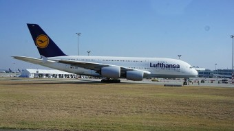 Bálna a kifutón! - Budapesten járt az Airbus A380
