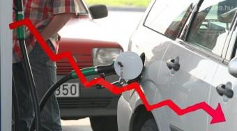 Tovább csökken az üzemanyag-eladás