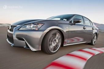 Sportmodell az új Lexus GS-ből