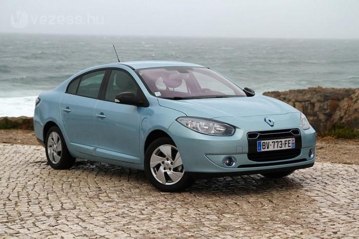 Vezettük: Renault Fluence és Kangoo Z.E.