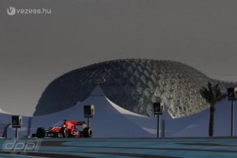 F1: Újabb tesztelők Abu-Dzabiban