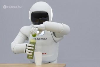 Önállóan dönt a Honda új robotja