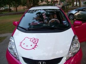 Hondagyilkos Hello Kitty