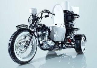 WC-vel motorozták be Japánt