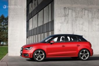 Kis Audi öt ajtóval és 4 literrel