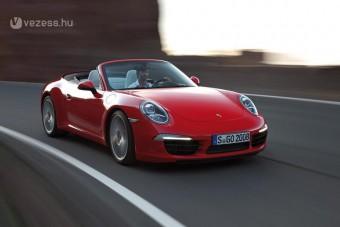 400 lóerő az új Porsche kabrióban