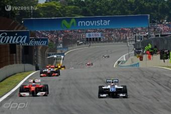 F1: Egy DRS-zóna lesz Brazíliában
