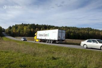 Előrelátó kamion