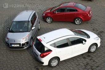 Összehasonlítás: olcsó családi autók